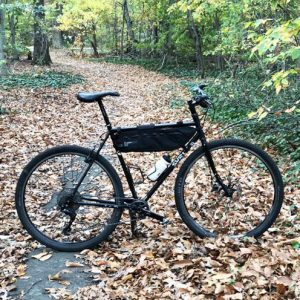 Custom Surly Long Haul Trucker Bikepacking Setup