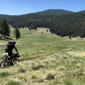 Bikepacking New Mexico's Valles Caldera Supervolcano​